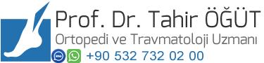 Ortopedi ve Travmatoloji Uzmanı Profesör Doktor Tahir Öğüt
